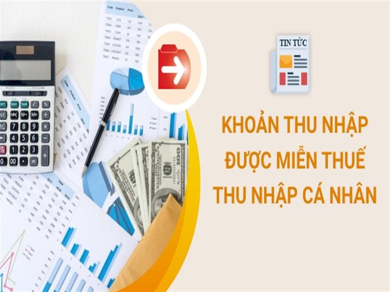 Thu nhập cá nhân miễn thuế