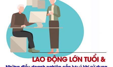 quy định về lao động lớn tuổi