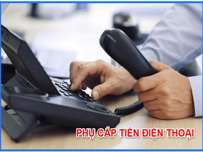 phụ cấp điện thoại được miễn thuế