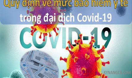 Quy định về mức bảo hiểm y tế trong đại dịch Covid-19