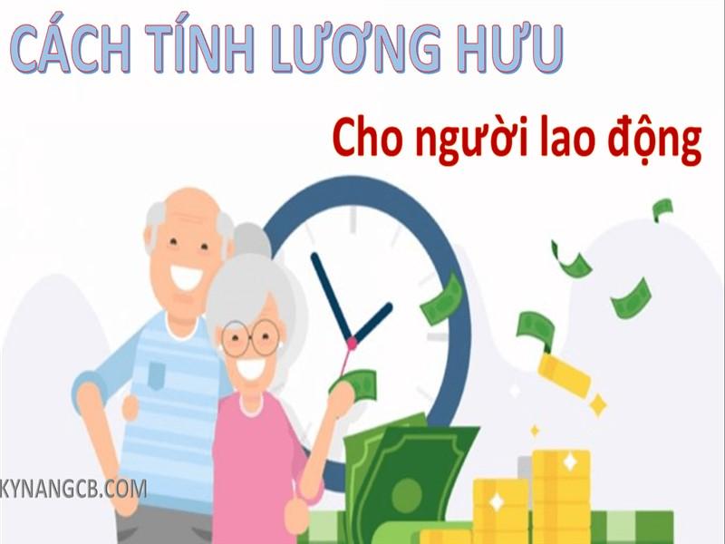 Cách tính lương hưu hàng tháng