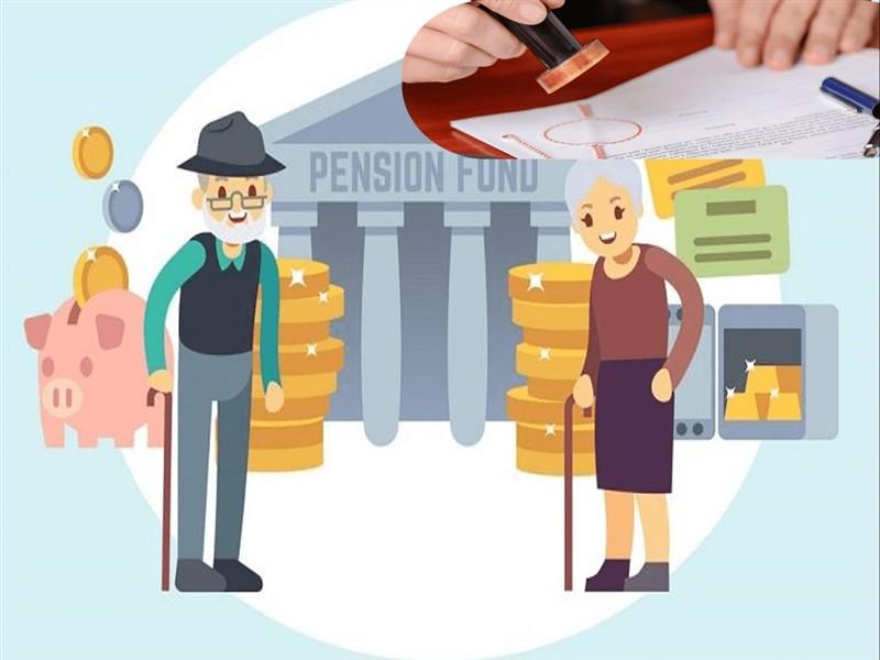 Hướng dẫn hồ sơ hưởng chế độ lương hưu